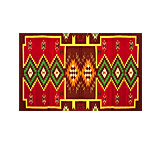 Wool Zapotec Weaving Design ZW006