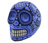 Huichol Skull: Blue Dream
