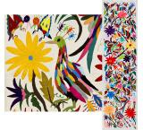 Animals & Flowers Fino Quality Otomi Runner