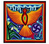 Huichol Yarn Painting