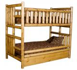 Northwoods Bunk Bed w/ Trundle