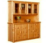 Log Buffet & Hutch