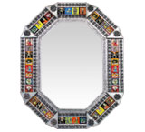 Octagonal Tile Mirrorw/ Day of the Dead Tiles