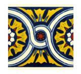 Mexican Talavera Tiles Border Designs