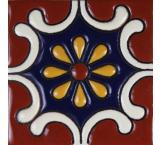 Arabesque AzulTalavera Relief Tile
