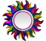Multicolored Sun Mirror