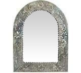 Arched Engraved Mirror