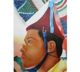 Volador de Papantla Oil Painting on Canvas