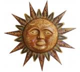 Large Decorated Sun