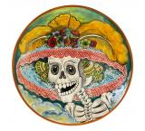 XL Day of the Dead Plate