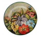 Large Hummingbird Plate