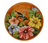 Small Hummingbird Plate