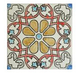 Madrileño Matte Finish Talavera Tile