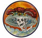 Medium Day of the Dead Plate