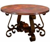 Round Patricia End Table