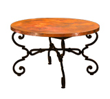 Round Monica End Table