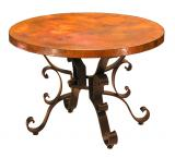 Round Roman End Table