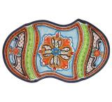 Triple Talavera Snack Tray