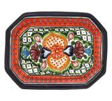 Small Talavera Snack Tray