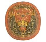 Roaring Lion Plaque