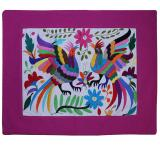 Gallos Luchadores Otomi Pillow Cover