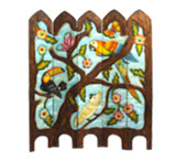 Birds Double-Sided Room Divider
