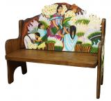 Lily Vendors Bench