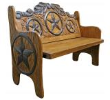 Woven Star Bench
