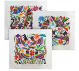 Flora & Fauna Otomi Pillow Cover