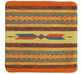 Wool Throw Pillow:Zapotec Design IP2