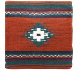 Wool Throw Pillow:Zapotec Design YS6L