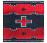 Wool Throw Pillow:Zapotec Design VR5