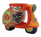 Talavera Scooter Planter