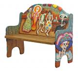 Dancing Skeletons Bench