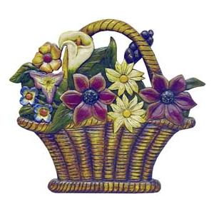 Flower Basket Wall Hanging