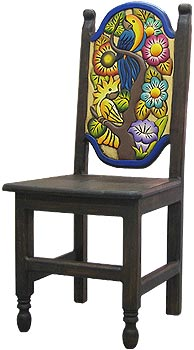 Birds & Flowers Chair
