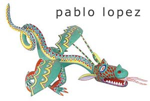 Oaxacan Woodcarvingby Pablo Lopez