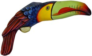 Wall Mounted Toucan
