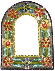 Multicolored Arch Mirror