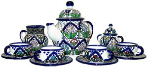 Talavera Tea Set #1