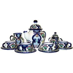 Talavera Coffee Set #2