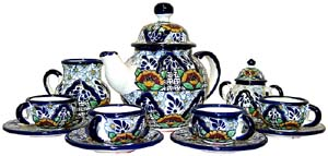 Talavera Coffee Set #12