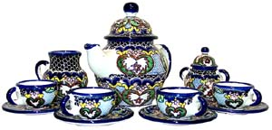 Talavera Tea Set #17