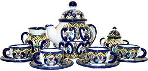 Talavera Tea Set #22
