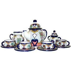 Talavera Coffee Set #23