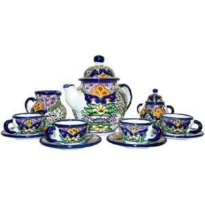 Talavera Coffee Set #30