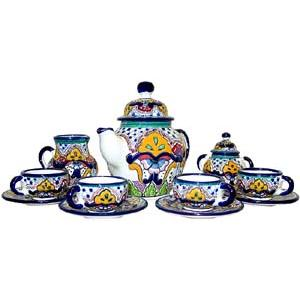 Talavera Coffee Set #36