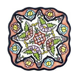 Large Talavera Snack Tray