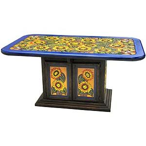 Rectangular SunflowerDining Table
