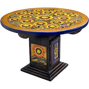 Round SunflowerDining Table